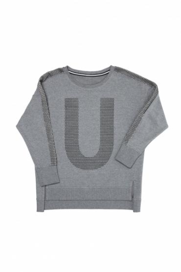 Свитшот URA серый