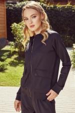 Женский костюм черный карго